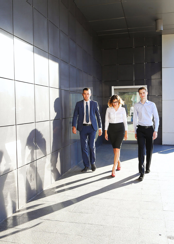 agents walking